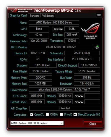 GPU-Z v0.5.6 下载